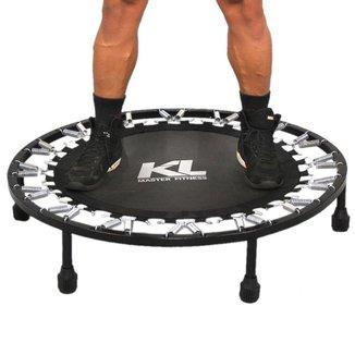 Mini Cama Elástica KL Master Fitness Jump Trampolim + DVD
