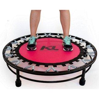 Mini Cama Elástica Trampolim Jump Profissional 150 Kg + Dvd