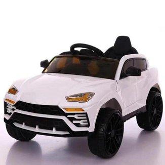 Mini Carro Elétrico Infantil Importway Branco 12V