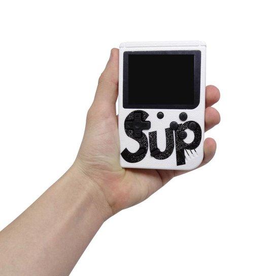 Mini Game Portátil Sup Game Box Plus 400 Jogos Na Memoria - - Branco