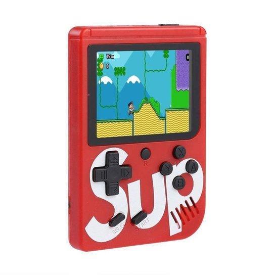 Mini Game Portátil Sup Game Box Plus 400 Jogos Na Memoria - - Vermelho