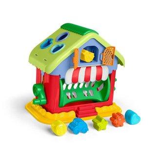 Mini House Didático Colorido Sortido Tateti Calesita