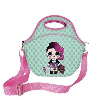 Mini Lancheira Doll Roqueira