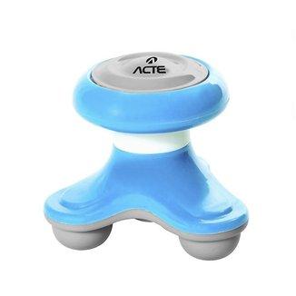 Mini Massageador Corporal Acte T150 - Azul