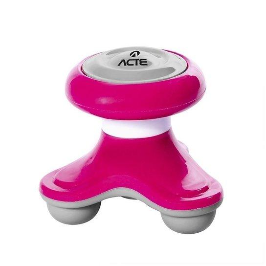 Mini Massageador Corporal Acte T150 - Rosa