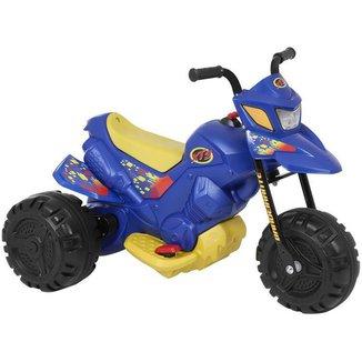 Mini Moto Elétrica Infantil XT3 2 Marchas 6V
