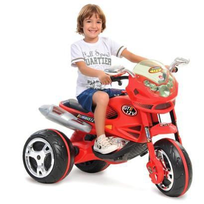 Mini Moto Elétrica - Super GT Turbo - Bandeirante - Unissex - Incolor