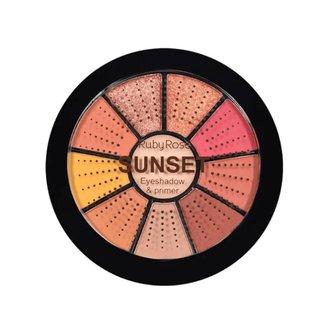 Mini Paleta De Sombras Sunset - Ruby Rose Sunset