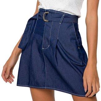 Mini Saia Onça Preta Gode Jeans
