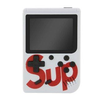Mini Super Vídeo Game Portátil 400 Jogos Cabo Av Super Mario Branco