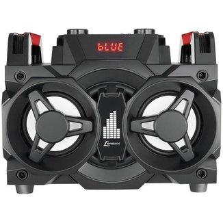 Mini System Lenoxx Bluetooth 150W Rádio FM Karaokê