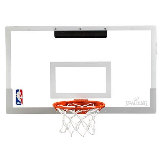 Mini Tabela de Basquete NBA Spalding Arena Slam 180 PRO - Laranja