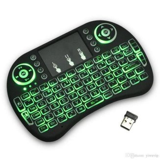 Mini Teclado Sem Fio Wireless Touch Compatível com computador/ notebook/ Pad /TV /PC