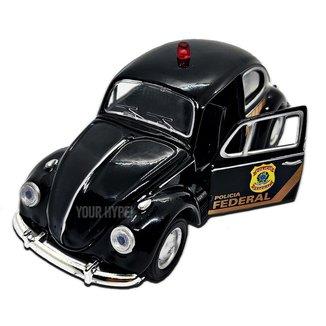 Miniatura Fusca Polícia Federal Carrinhos de coleção