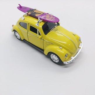 Miniatura Fusca Surf Carrinhos de coleção