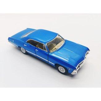 Miniatura Impala 4 portas 1967 Carrinhos de coleção