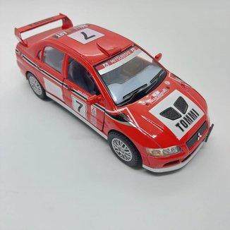 Miniatura Lancer Evolution Tommi Carrinhos de coleção