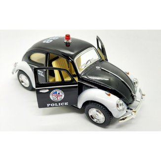 Miniatura Volkswagen Fusca Policia - Miniaturas de carros