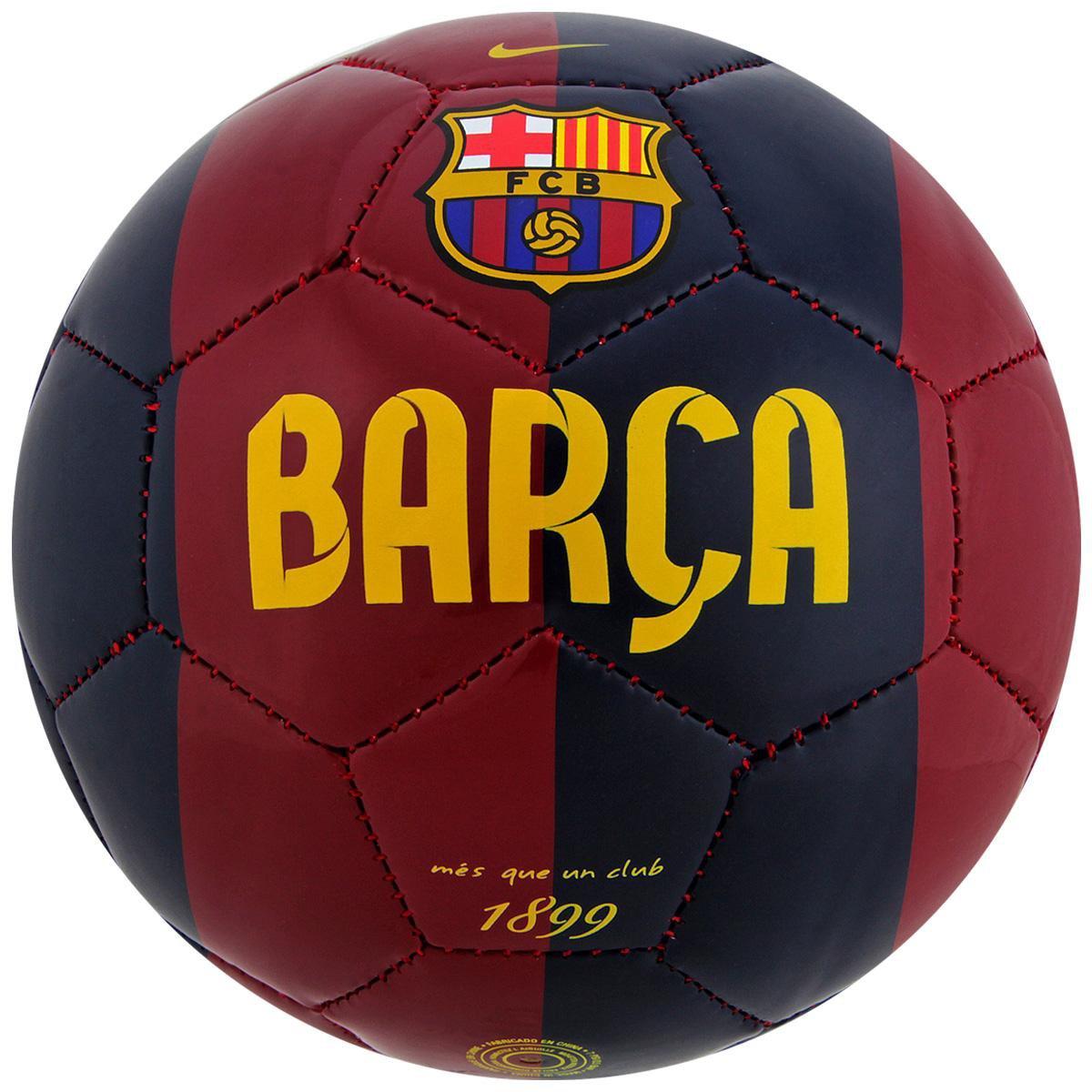 MiniBola Futebol Nike Barcelona Skills - Compre Agora  528574e114bce