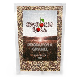 Mix De Quinoa Empório Rosa Granel 500g