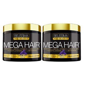 ML23 2X MEGA HAIR BELÍSSIMA - HAIR SKIN NAILS-CABELO PELE UN
