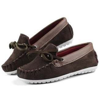 Mocassim Infantil Menino Masculino Dockside Sapato Casual Confortável