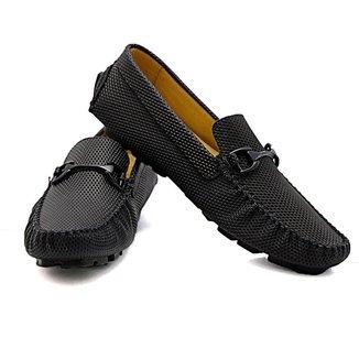 Mocassim Top Shoes Diamond Masculino Couro Conforto