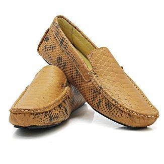 Mocassim Top Shoes Phyton Masculino Couro Conforto