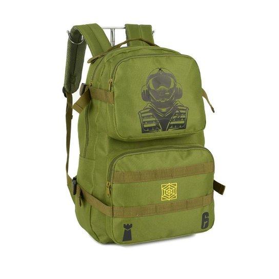 Mochila Backpack Jager Operator Unissex R6 Siege Ubisoft - Verde