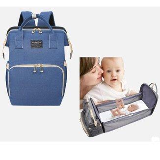 Mochila Bolsa Maternidade Yepp Impermeável Caminha Bebê Gestante