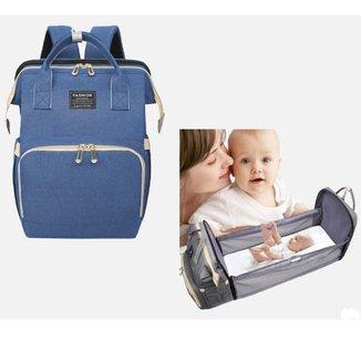 Mochila Bolsa Maternidade Yepp Multifuncional Cama Berço Portátil Dobrável