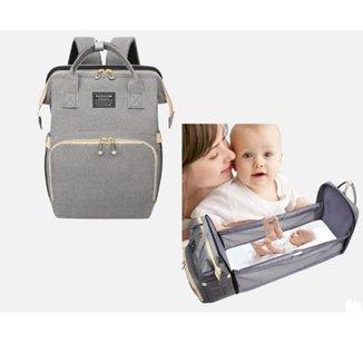 Mochila Bolsa Maternidade Yepp Térmica Impermeável Berço Caminha