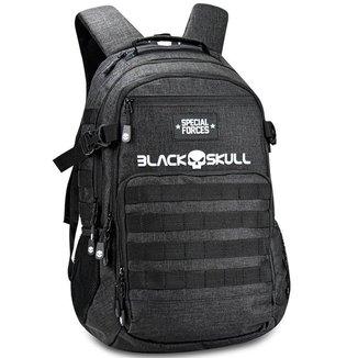 "Mochila Casual Executiva para Notebook 16"" - Special Forces - Black Skull"