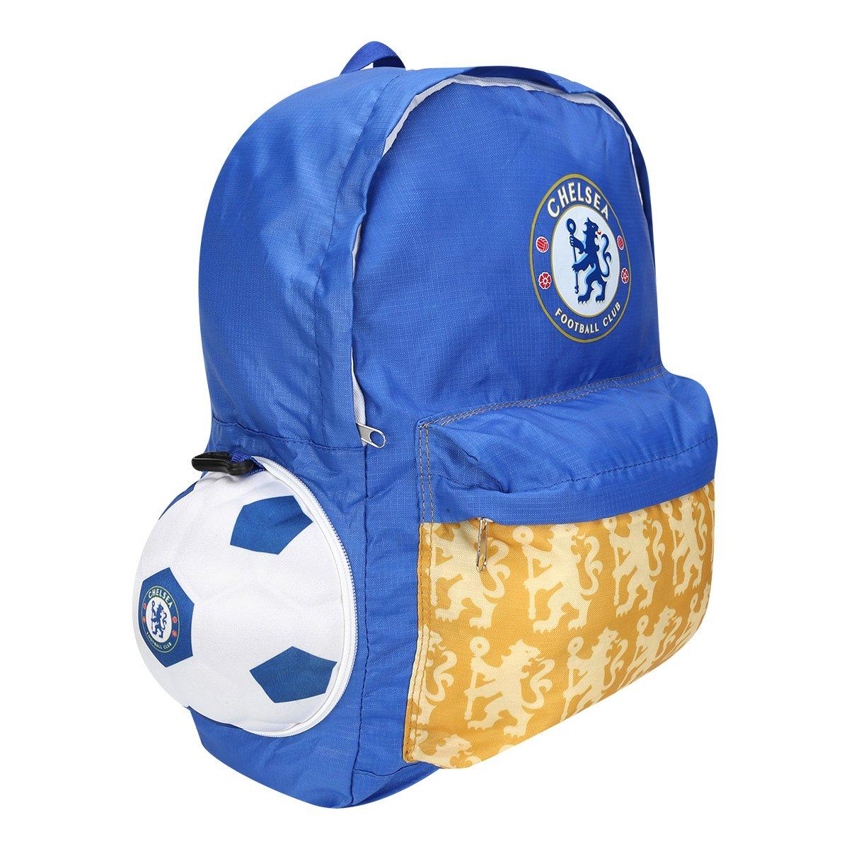 da8ab57b0d Mochila Chelsea Bola  Mochila Chelsea Bola ...