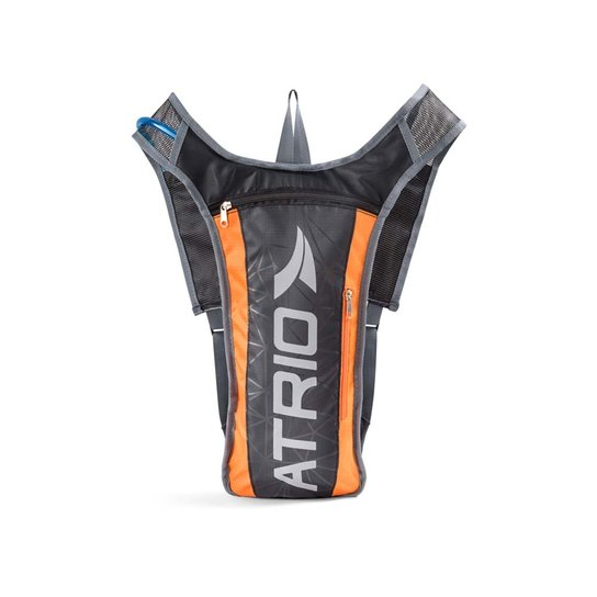 Mochila de Hidratação Atrio Sprint 2 litros - Preto+Laranja
