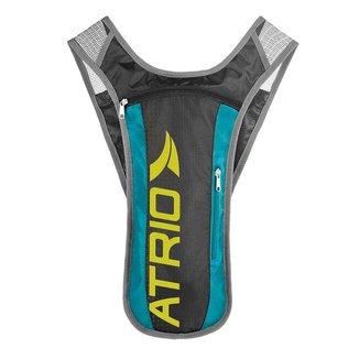Mochila de Hidratação Atrio Sprint Preto/Azul 1,5L
