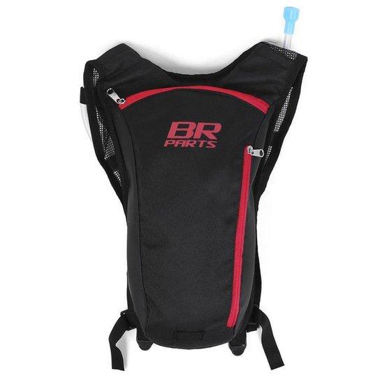 Mochila de Hidratação BR Parts Classic 2L - Vermelho
