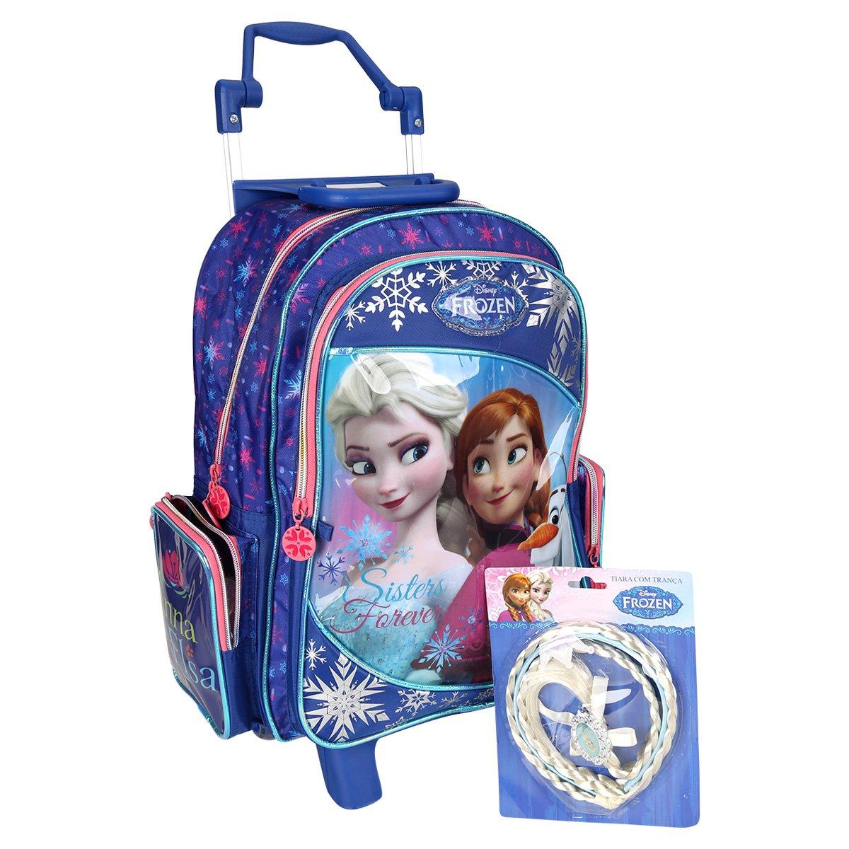 61bff5135 Mochila de Rodinha Dermiwil Frozen C/Brinde Infantil | Netshoes