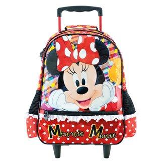 Mochila Escolar Infantil Disney Xeryus Com Rodas 16 Minnie Its All About Minnie