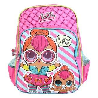 Mochila Escolar Infantil Luxcel Lol Surprise