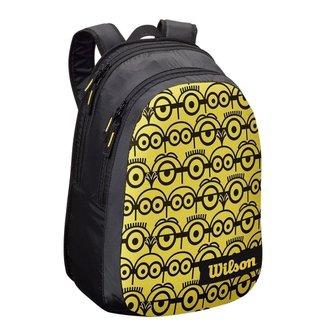 Mochila Esportiva Wilson Minions Junior Backpack - Preta e Amarela
