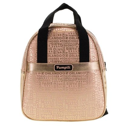 Mochila Feminina Infantil Pampili - 7000 - Bronze - U