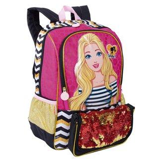 Mochila Grande Barbie 19Z Infantil Sestini