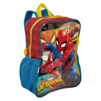 Mochila Grande Spiderman 19M Infantil Sestini