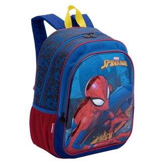 Mochila Grande Spiderman 19X Infantil Sestini
