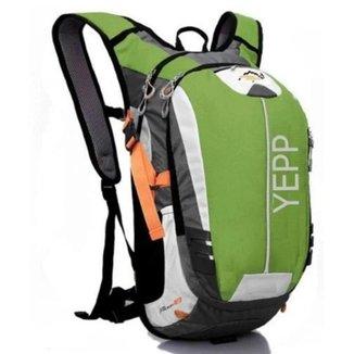 Mochila Hidratação Yepp 2l Camping Corrida Trilha Ciclismo 18l