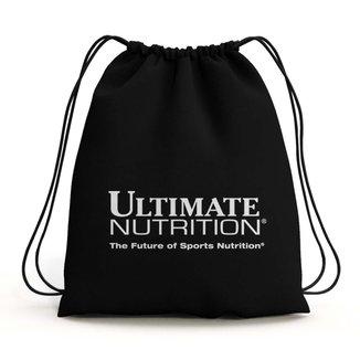 MOCHILA IMPERMEÁVEL ESPORTIVA OFICIAL - ULTIMATE NUTRITION (PRETO)