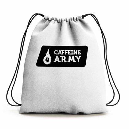 MOCHILA IMPERMEÁVEL ESPORTIVA UNICO - CAFFEINE ARMY (BRANCO)