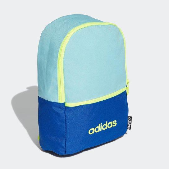 Mochila Infantil Adidas Clássica Bicolor - Azul Claro