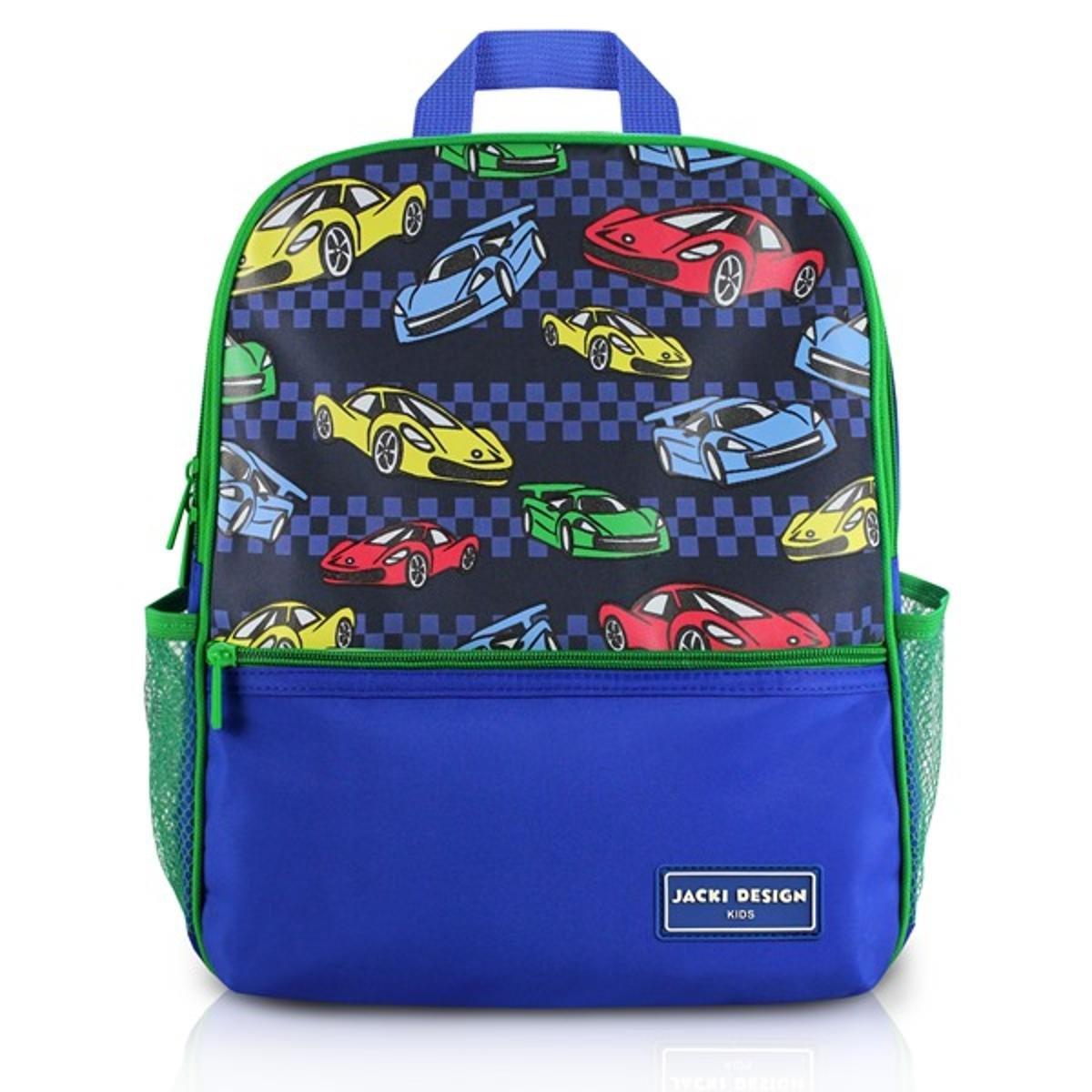 Mochila Infantil Escolar Jacki Design Carro Microfibra Masculino - Marinho  e Verde - Compre Agora  9e6ebe8fe1d